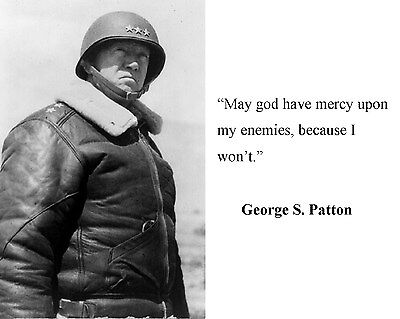 General George S. Patton World War 2 WWII Quote 8 x 10 Photo Picture #hb7