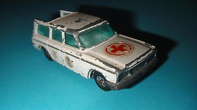 Vtg Toy Car Corgi Juniors Studebaker Wagonaire Ambulance Whizzwheels Gt. Britain