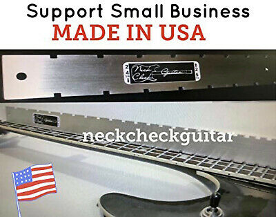 GIBSON GUITAR NECK STRAIGHT EDGE (Notched) LUTHIERS TOOL