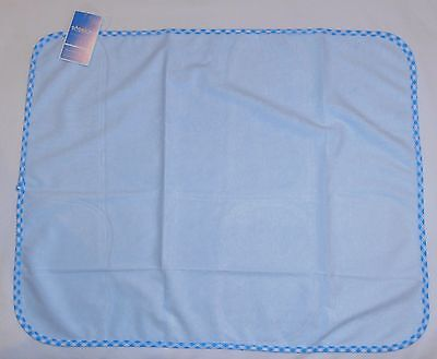 Waterproof Baby's Mattress Protector - 40 x 50cm - Bamboo Fibers - BLUE - NEW