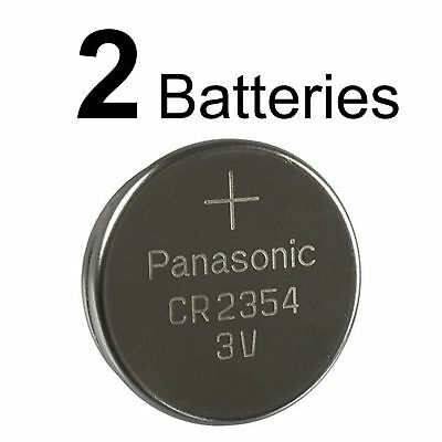2 PANASONIC CR2354 3V BATTERIES CR 2354 NEW 3v Lithium battery EXPIRATION 2028