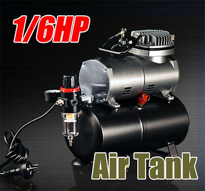 1/6HP Air Compressor for Spray Gun Air Brush AS-186