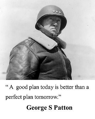 General George S. Patton World War 2 WWII Quote 8 x 10 Photo Picture #t11