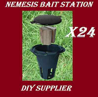 24 NEMESIS termite monitor bait station for termite treatment and inspection