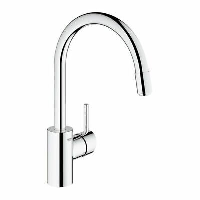 grohe concetto sp ltisch armatur mit herausziehbarem mousseurauslauf 32663001 eur 137 40. Black Bedroom Furniture Sets. Home Design Ideas
