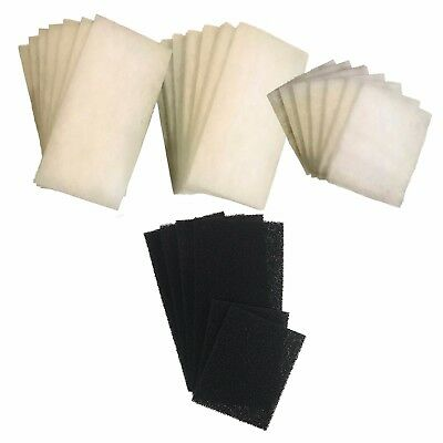 AquaOne 980 / 980T - 21 Poly and 6 Carbon Filter Pads
