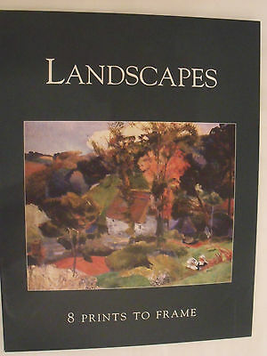 Landscapes 8 Prints to Frame Famous Painters Different REDUCED