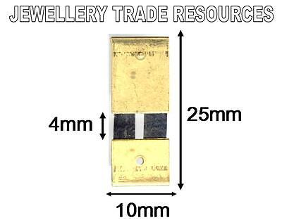 CLOCK SUSPENSION SPRING TOP QUALITY STEEL BRASS 25mm x 10mm x 4mm SPARES  PARTS