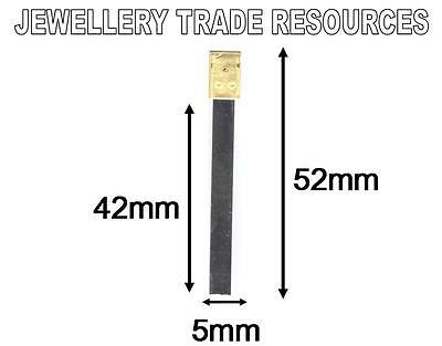 CLOCK SUSPENSION SPRING TOP QUALITY STEEL BRASS 52mm x 5mm x 42mm SPARES  PARTS • £3.49
