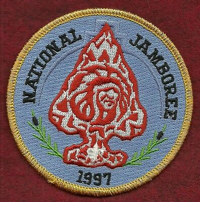 Vintage  Boy Scout - 1997 National Jamboree Order Of The Arrow Rendezvous Patch