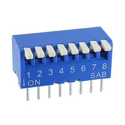 PCB Piano DIP Switch Key 6 or 10 way - 1st Class UK Post
