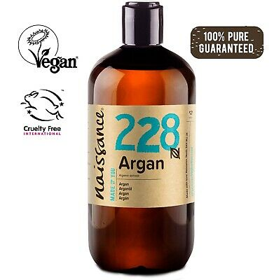 Naissance Moroccan Argan Oil 500ml - 100% Pure - Moisturiser Face and hair