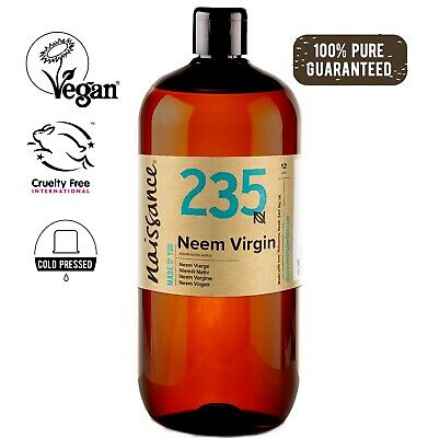 Neem Virgin Oil 1 Litre by Naissance