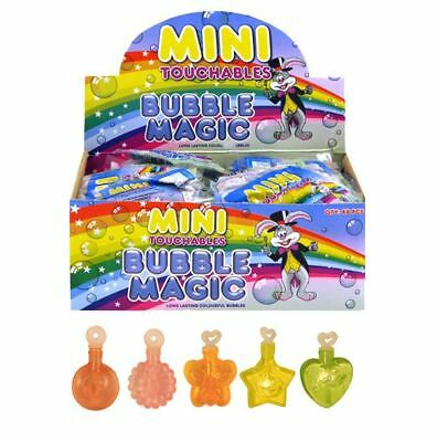 24 X Mini Touchable Bubbles Children Loot Goody Party Bags Pinnata Fillers Toys