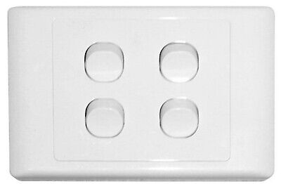 4 Gang Light Switch Electrical 2000 Series Style Four
