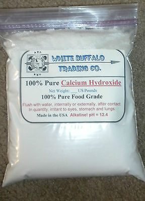 1 to 6 # PURE Calcium Hydroxide Ca(OH)2; Edible/ Hydrated/ Pickling/ Slaked Lime