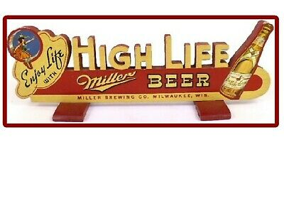 Miller High Life Beer Sign  Refrigerator Magnet