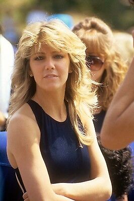 Heather Locklear Battle Network Stars VINTAGE 35mm Slide.