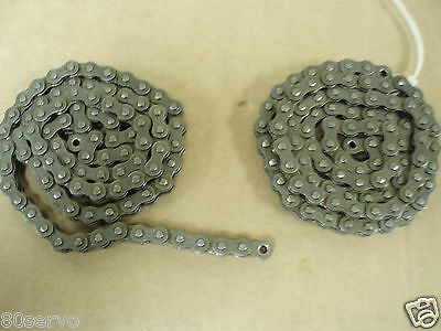 Roller Drive Chain Single  Ansi 35    (2Each   33 Inch Long)    New