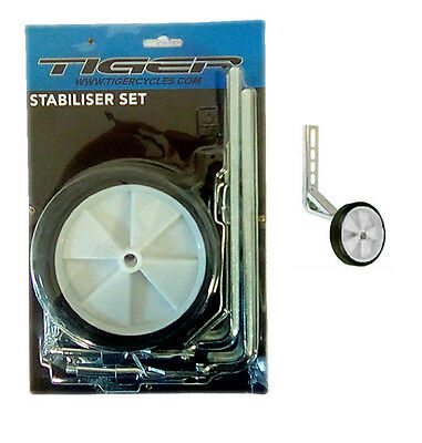 Universal Easy Fit Stabilisers For Any Childs Bike With 12'' To 20'' Wheels