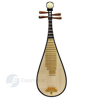 Shanghai Spruce Wood Pipa with Rosewood Pegs by Eason Music - Popular Grade