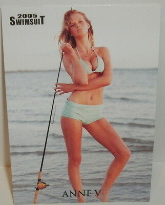Sports Illustrated 2005 - Anne V - Swimsuit Card #7