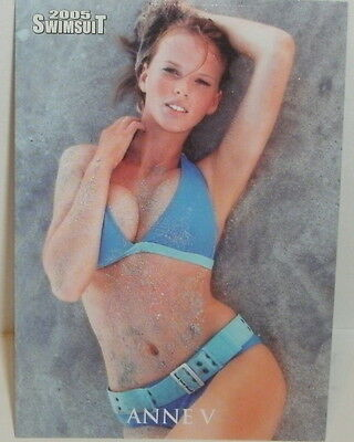 Sports Illustrated 2005 - Anne V - Swimsuit Card #4