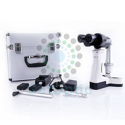 Multi-Spot Slit Lenth Adjustable Portable Hand Held Slit Lamp PSL-3800 Battery