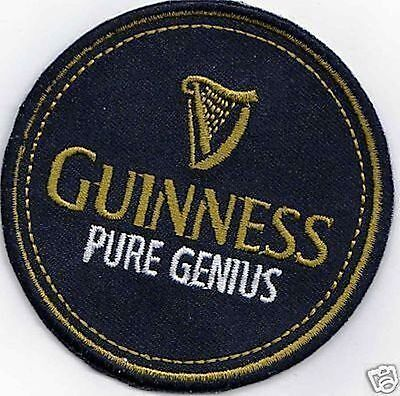 Guinness  Iron On Sew On  Patch $5-95 Buy 2 Get 1 Free