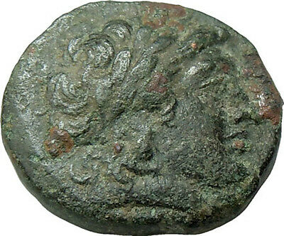 Antiochos II Theos, Seleukid Kings Apollo Authentic Ancient Greek Bronze Coin