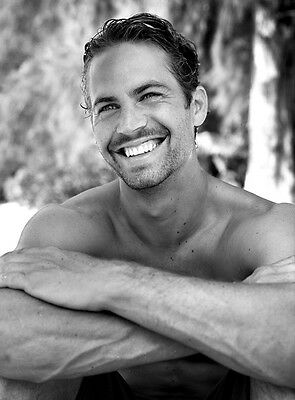 Paul Walker 8X10 Photo Hot and Sexy Fast and Furious Actor #02