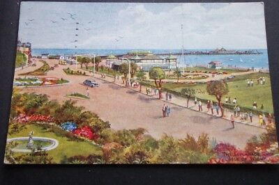 .old Postcard Of The Esplanade Ryde Isle Of Wight
