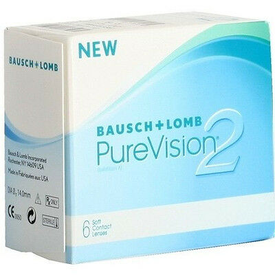 PureVision 2HD   1x6 TOP ANGEBOT purevision Bausch & Lomb  Pure vision 2hd