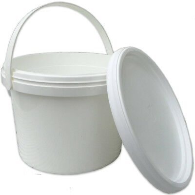 6 X Beekeepers 1 Gallon (5L) CONTACT  BUCKET FEEDERS
