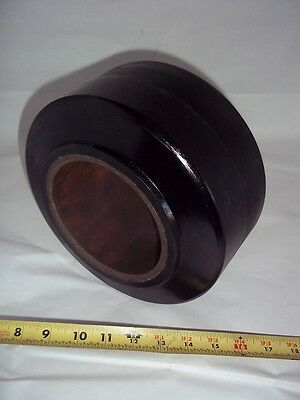 9X5X5 POLY FORKLIFT TIRE SMOOTH PRESS ON