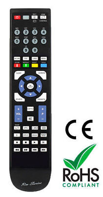 Replacement Remote Control For TECHNIKA LCD22DVDID-208