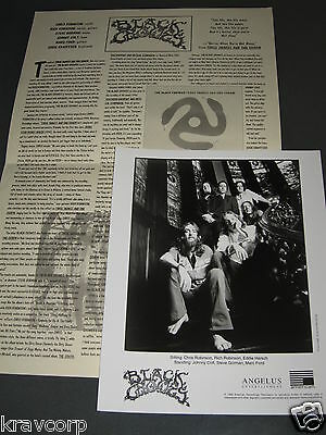 The Black Crowes '3 Snakes & One Charm' 1996 Press Kit--Photo