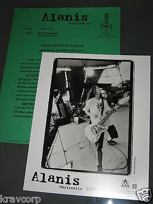 Alanis Morissette 'Jagged Little Pill, Live' 1997 Press Kit—Photo