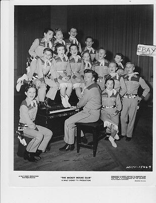 Jimmie Dodd Mickey Mouse Club VINTAGE Photo