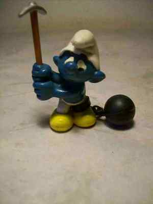 Super Puffo Galeotto Puffi The Smurf Smurfs Made In Hong Kong