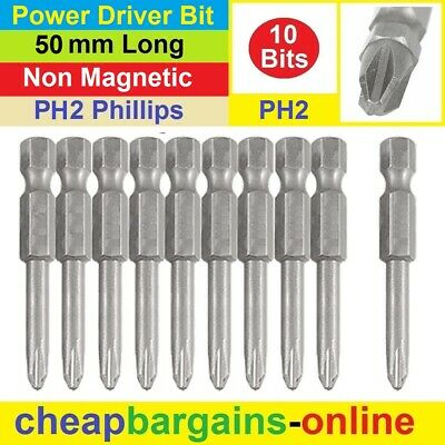 New Industrial Screwdriver Impact Power Screw Driver Bits Phillips Head Hex Bits