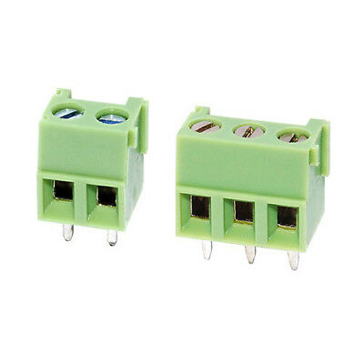 5x 3.81mm PCB Screw Terminal Block 2 or 3 way - 1st Class UK Post