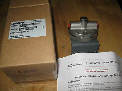 Siemens Moore Differential Flow Controller 63SD M178 63