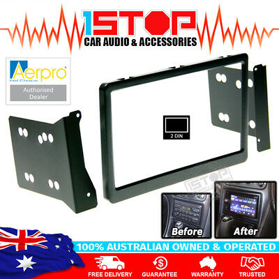 Holden Commodore Vt Vu Vx 97-02 Double-Din Dash Facia Fascia Kit Aerpro Fp8018