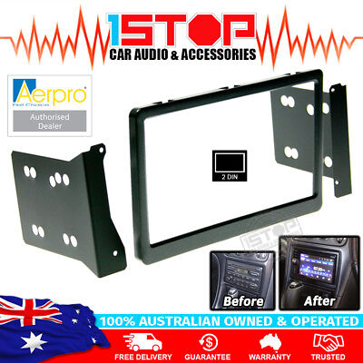 Holden Commodore Vt Vu Vx Double-Din Facia Fascia Kit Dash Panel Aerpro Fp8018
