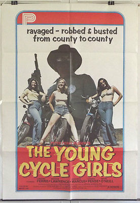 The Young Cycle Girls - Loraine Ferris - Original American 1Sht Movie Poster