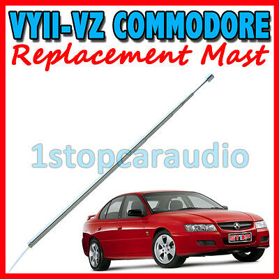 REPLACEMENT POWER ANTENNA MAST+ROPE for HOLDEN COMMODORE VY2-VZ & MONARO V2