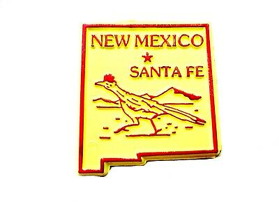 New Mexico With Road Runner United States Fridge Magnet