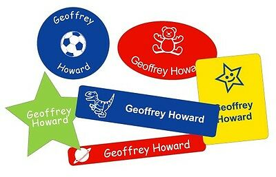 50 x Super Sticky Property Labels for School