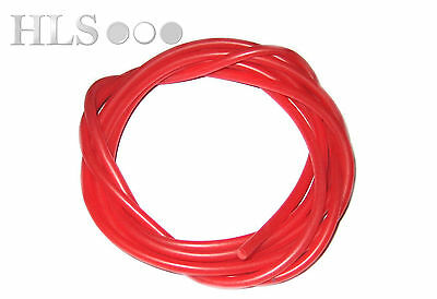 Red silicone rig tube  0.5, 0.75, 1.0, 1.5, 2.0 and 3.0mm ID, HLS Carp tackle